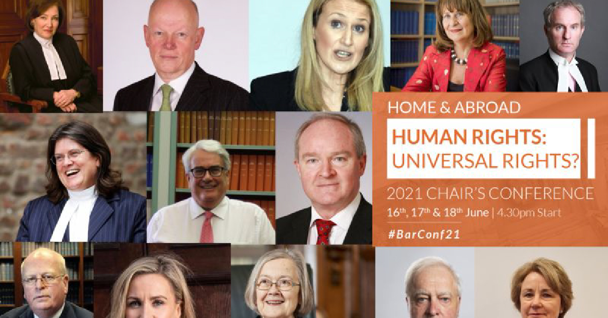 Chairs Conference 2021: Human Rights: Universal Rights? Home and Abroad