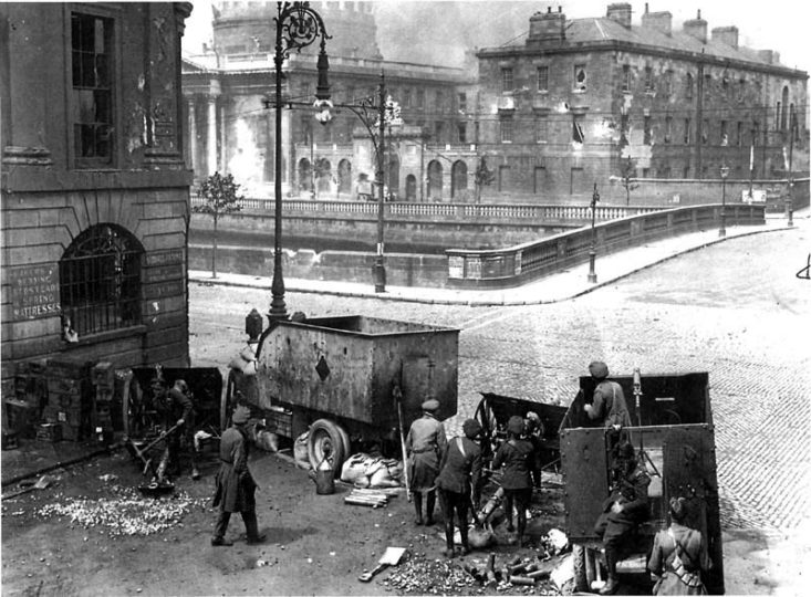 History of the Bar - Shelling of the Four Courts