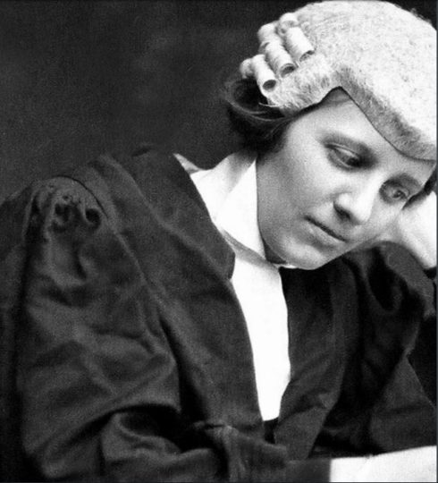First Woman at the Bar in Ireland: Frances Kyle
