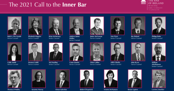 The 2021 Call to the Inner Bar: Mark of integrity & continuing excellence