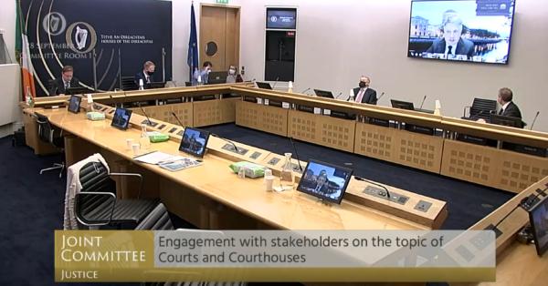 Oireachtas Justice Committee: Court Infrastructure & Resourcing